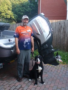 Lawrence and Moby with a 250hp HO G2 ETEC