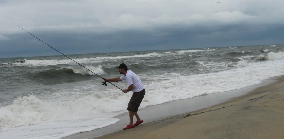 surf-casting