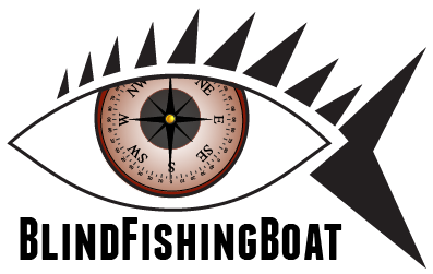 Blind Fishing Boat Logo