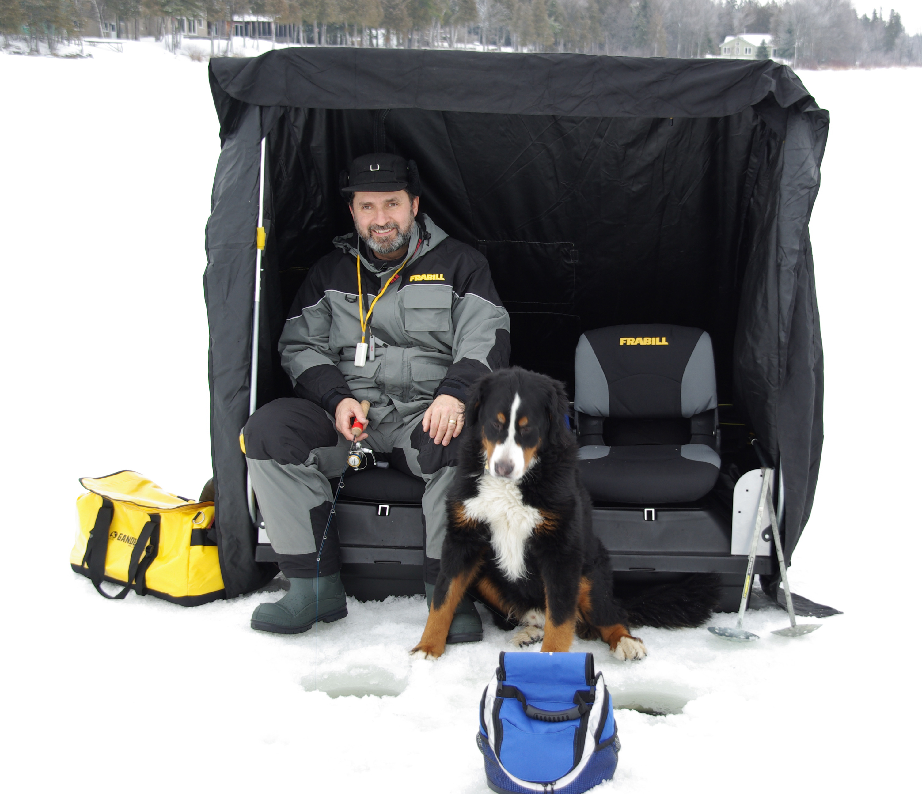 Pics for ice fishing shelter for Ice fishing shelter