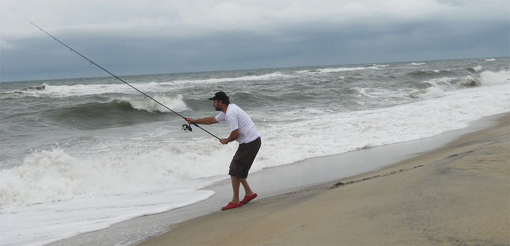 Lawrence surf casting